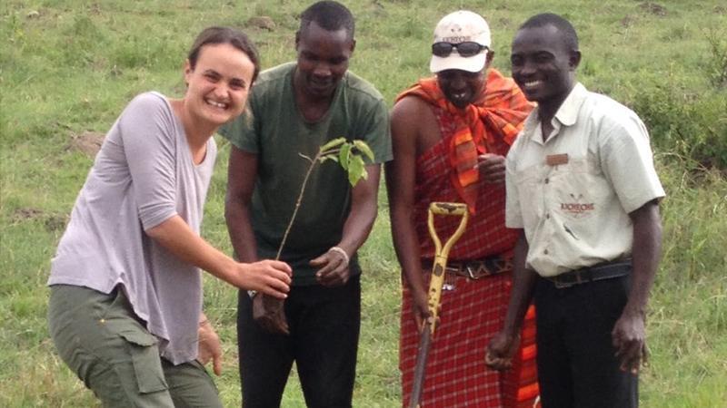 Kicheche Trust Tree Planting